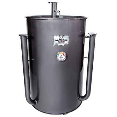 Gateway Drum Smoker - Hoogglans charcoal/grijs