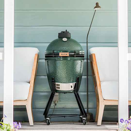 Big Green Egg Medium incl intEGGrated met handler onderstel
