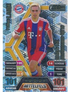 MA-17/18 -  385 - Philipp Lahm- 2014/2015 - 10. Kollektion Club Einhundert