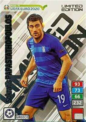 LE15 - Sokratis Papastathopoulos - Limited Edition - Road to Euro Cup 2020
