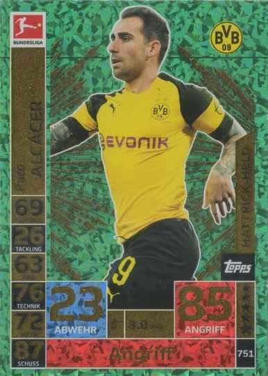 MA-18/19 - EXTRA 751 - Paco Alcacer - Hattrick-Helden