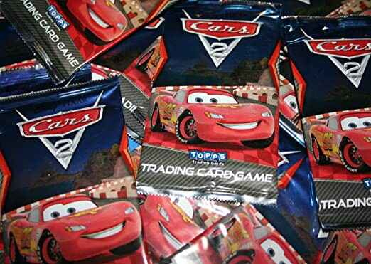Cars 2 Trading Card Game - 10 Booster