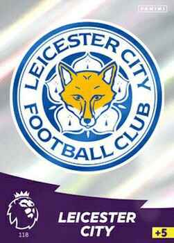 118 - Club Badge - Leicester City   - AXPL 20/21