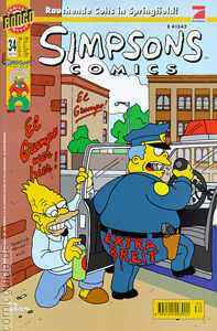 Simpsons Comics Nr. 34 - Rauchende Colts in Springfield