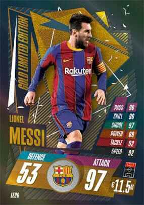 LE2G - Lionel Messi - Limited Edition - Gold - MACL20/21