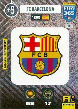 28.  Club Badge (FC Barcelona) - FIFA 365 * 2021 *