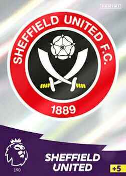 190 - Club Badge - Sheffield United   - AXPL 20/21