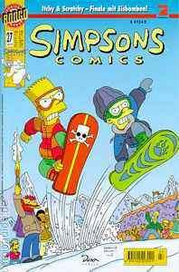 Simpsons Comics 27 (Z1), Panini