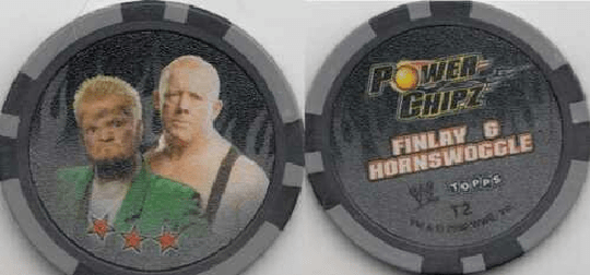 WWE Power Chipz - T2 - FINLAY & HORNSWOGGLE