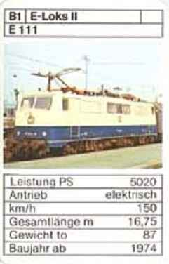 ASS - Loks - DB E 111 - (Art.Nr.41)