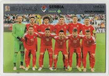 UNL13 - Serbia Team Photo - Road to Euro Cup 2020