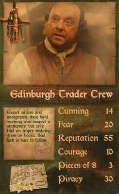 Top Trumps Specials Pirates Of The Caribbean -  - Edinburgh Trader Crew - (Art.Nr.9)
