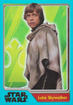 JN-192 - Luke Skywalker - Rainbow-Karte *