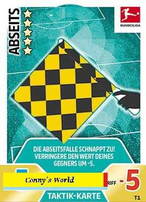 MA-17/18  - T1 - Abseits - Tactic-Karten