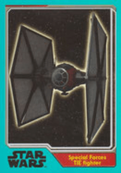 JN-206 - Special Forces TIE Fighter - Rainbow-Karte *