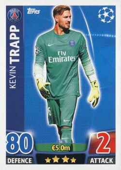 055 - Kevin Trapp - Base Card - Champions League 2015/16