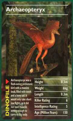 Top Trumps Dinosaurs - Archaeopteryx  - (Art.Nr.24)