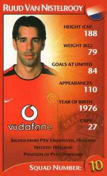 Top Trumps Specials Manchester United - Ruud Van Nistelrooy - (Art.Nr.4)