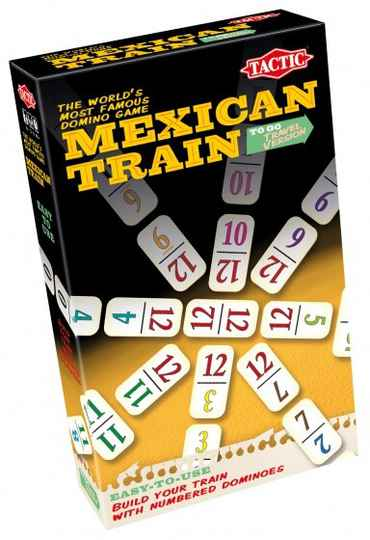 Tactic Brettspiel Mexican Train Travel Version