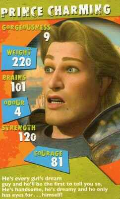Top Trumps Specials Shrek 2  - Prince Charming - (Art.Nr.7)