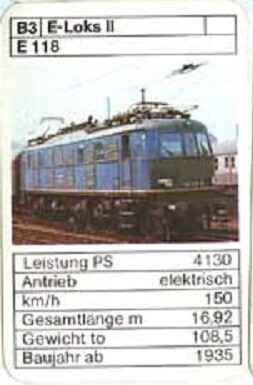 ASS - Loks - DB E 118 - (Art.Nr.40)