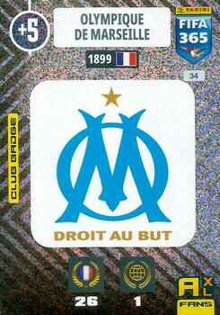 34.  Club Badge (Olympique de Marseille) - FIFA 365 * 2021 *