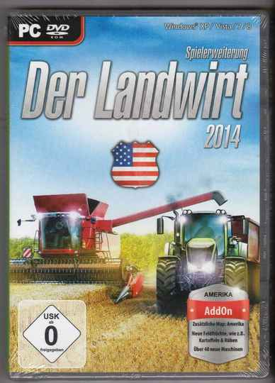 Der Landwirt 2014 - Der Amerikaner (Add-On)