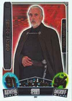237 - Count Dooku - Sith - Force Meister  - FAMOV3