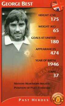 Top Trumps Specials Manchester United - George Best - (Art.Nr.56)