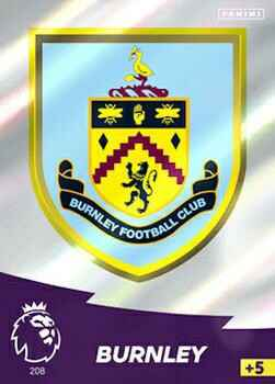 208 - Club Badge - Burnley   - AXPL 20/21