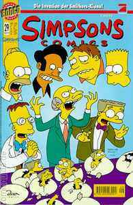 Simpsons Comics 29 (Dino Bongo Comics Group)