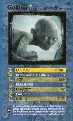 Top Trumps Specials The Lord Of The Rings - Gollum - (Art.Nr.58)