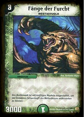 Duel Masters Fänge der Furcht  95/110 Mint and Never Played (D)