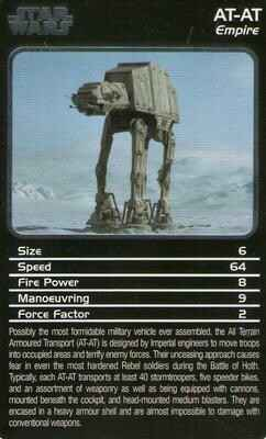 Top Trumps Specials Star Wars Starships - AT-AT - (Art.Nr.41)
