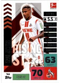 415 - Ismail Jakobs - Rising Star - 2020/2021