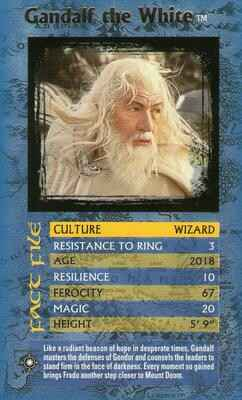 Top Trumps Specials The Lord Of The Rings - Gandalf the White - (Art.Nr.59)
