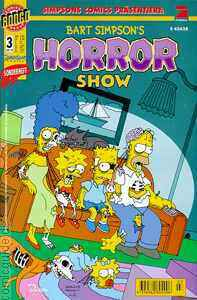 BART SIMPSON'S HORROR SHOW Heft 3 Nov 1999