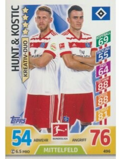 MA-17/18 -  496 - Hunt & Kostic - Duos