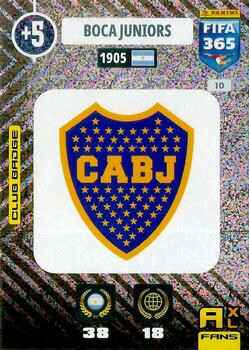 10.  Club Badge (Boca Juniors)  - FIFA 365 * 2021 *