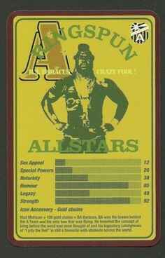 Top Trumps Ringspun allstars -  A Team Mad Mohican Mr T - (Art.Nr.20)