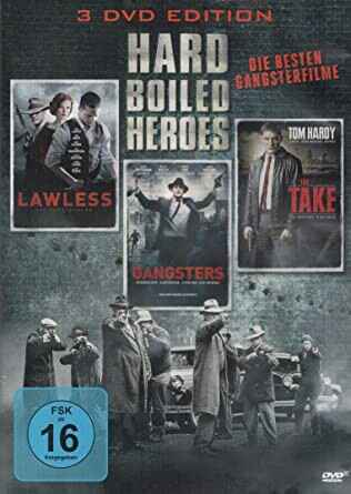 Hard Boiled Heroes : Lawless - Gangsters - The Take (3DVD Box)