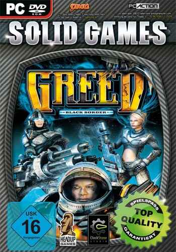 Greed - Black Border (Solid Games) PC