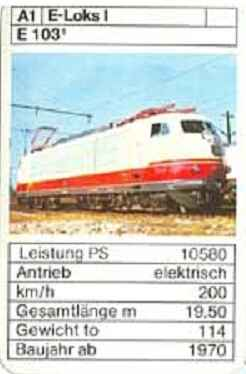 ASS - Loks - DB E 103 - (Art.Nr.30)