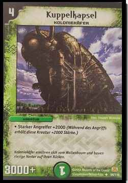 Duel Masters Kuppelkapsel 94/110 Mint and Never Played (D)