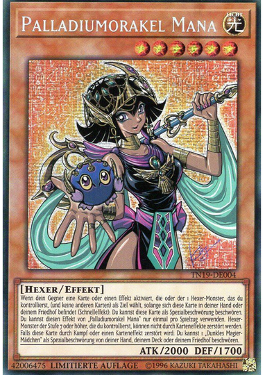 Palladiumorakel Mana - TN19-DE004 - Prismatic Secret Rare