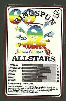 Top Trumps Ringspun allstars - James Brown - (Art.Nr.34)