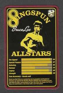 Top Trumps Ringspun allstars - Bruce Lee - (Art.Nr.33)