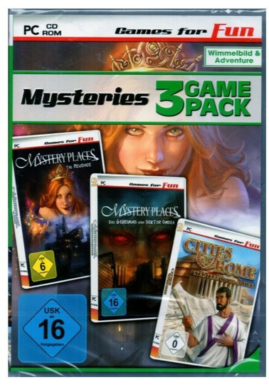 Mysteries - 3 Game Pack - PC (Art.Nr.6)