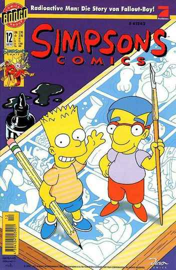 Simpsons Comics, Heft Nr. 12 von 10 / 1997, Dino, TOP