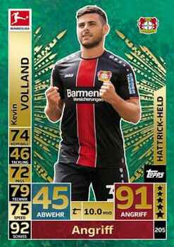 MA-18/19 - 205 - Kevin Volland - Hattrick Held
